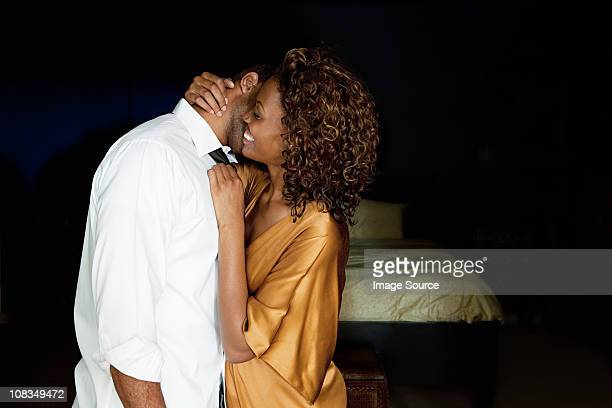 sexy couple - black people kissing stock pictures, royalty-free photos & images