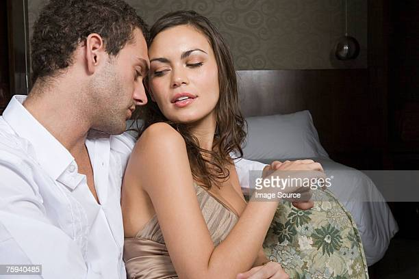 sexy couple - seduction stock pictures, royalty-free photos & images