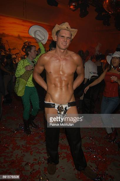 Sexy Cowboy attends MARC JACOBS Annual Holiday Party at Skylight Studios on December 13 2005 in New York City