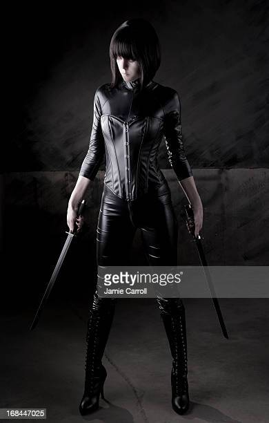 Sexy female assassin series
