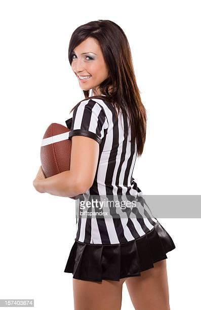 Sexy Female Football Fan