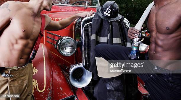 Sexy de pompiers
