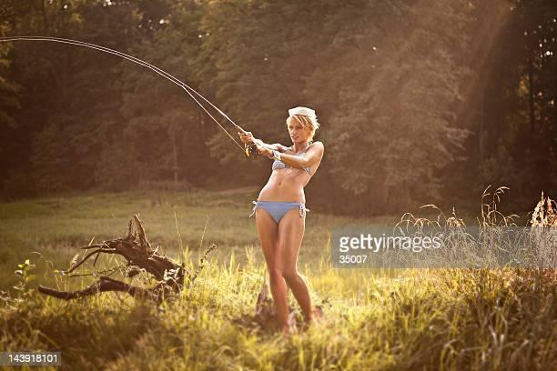 sexy angeln sailor - angeln stock-fotos und bilder