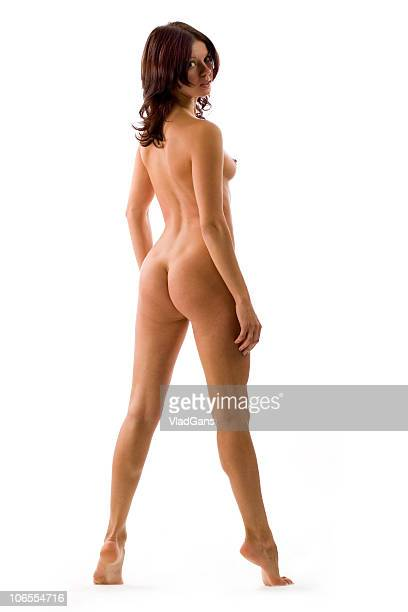 sexy girl - bare bottom women stock photos and pictures