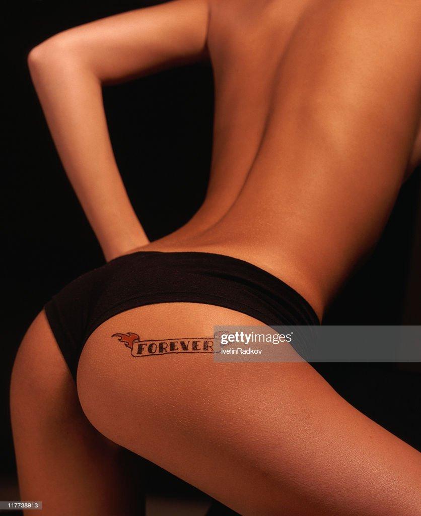 Sexy tattoo ass