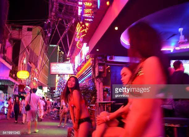 Sexy girls along Soi Cowboy, Bangkok