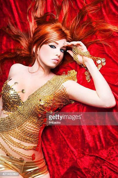Sexy Golden Beauty