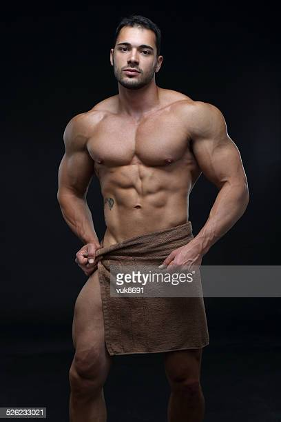 sexy guy - shirtless stock pictures, royalty-free photos & images