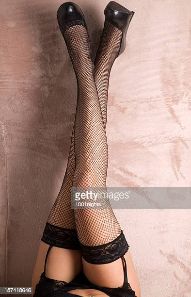 sexy legs of woman - suspenders stock pictures, royalty-free photos & images