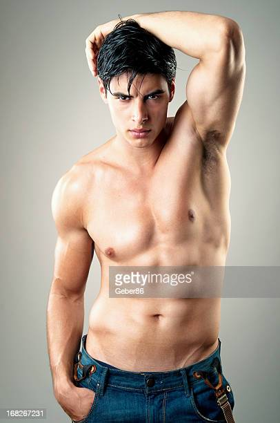 sexy male model - sexy male torso stock pictures, royalty-free photos & images