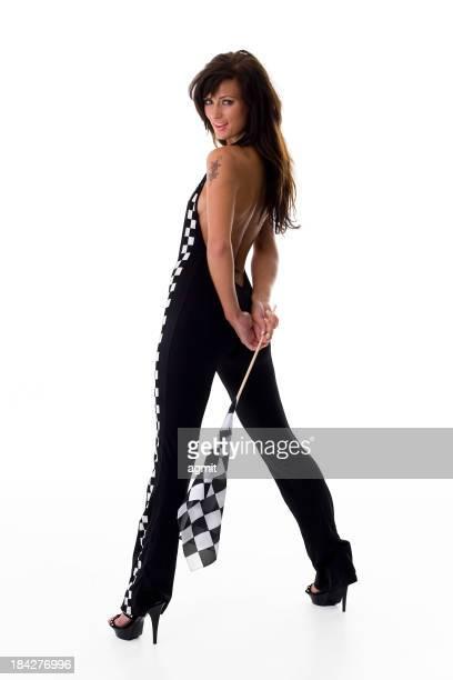 Sexy Race Girl