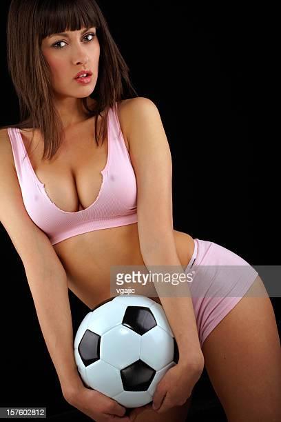 Sexy Fußball Mädchen