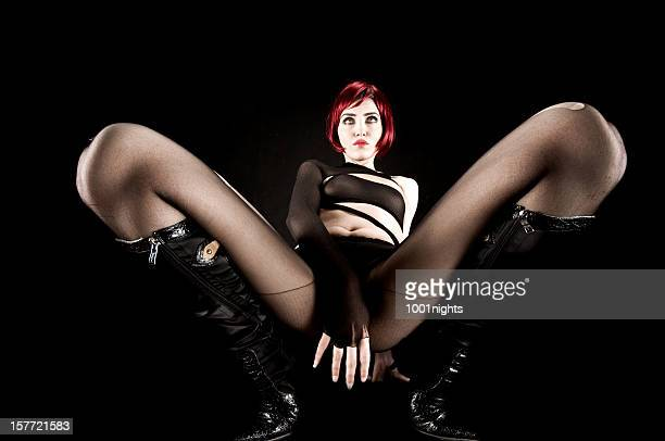 sexy stripper - leg show stock pictures, royalty-free photos & images