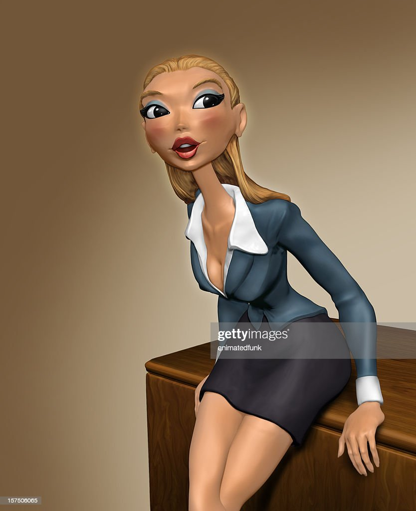 Sexy Teacher : Stock Photo