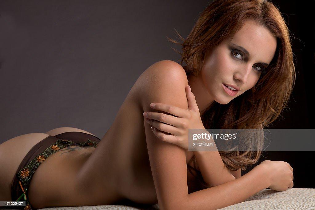 Female bare naked ass