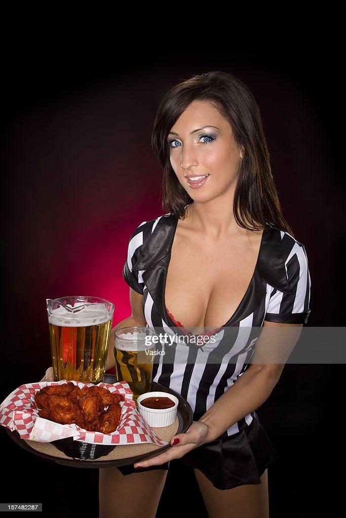 Sexy Kellnerin