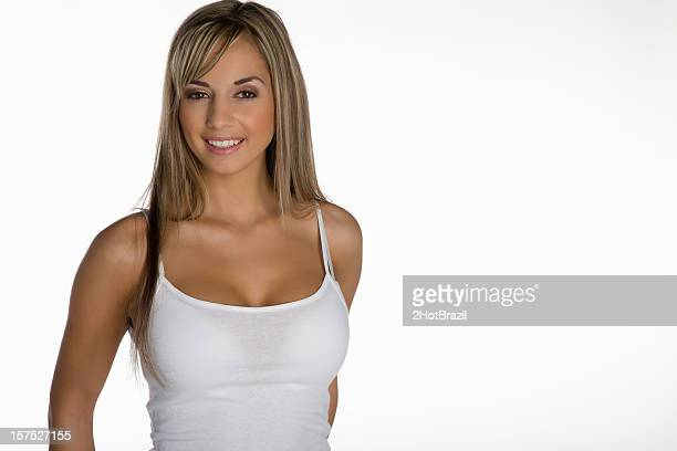 Hot Girl Tank Top Stock Photos And Pictures  Getty Images-1892