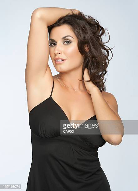Sexy Woman Arms Up