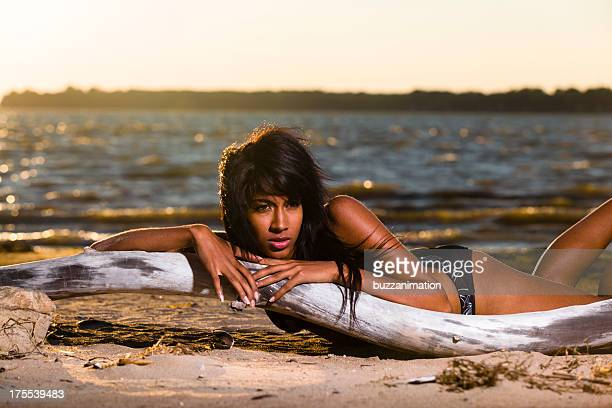 Teen Bikini Model Stock Photos And Pictures  Getty Images-5569