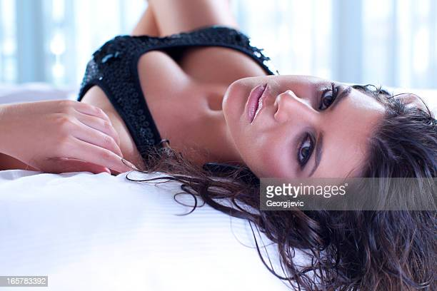 sexy woman - beautiful woman chest stock pictures, royalty-free photos & images