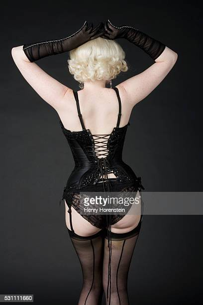 sexy woman - girdle stock photos and pictures