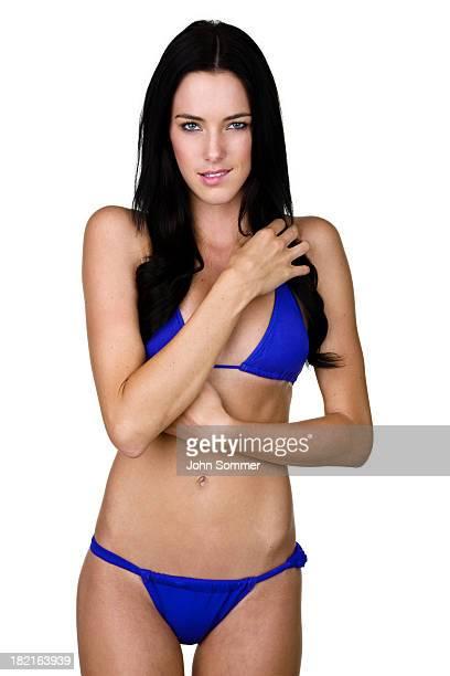 Sexy woman wearing a bikini