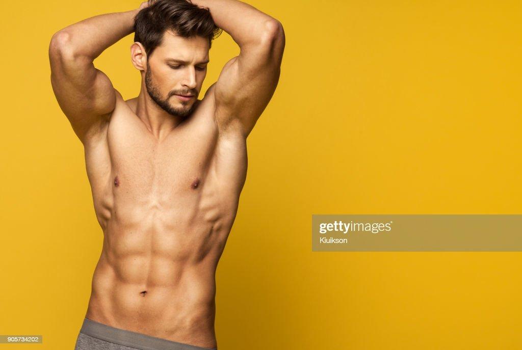 sexy junge männer, die