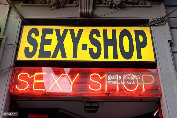Sexy-Shop Sign.
