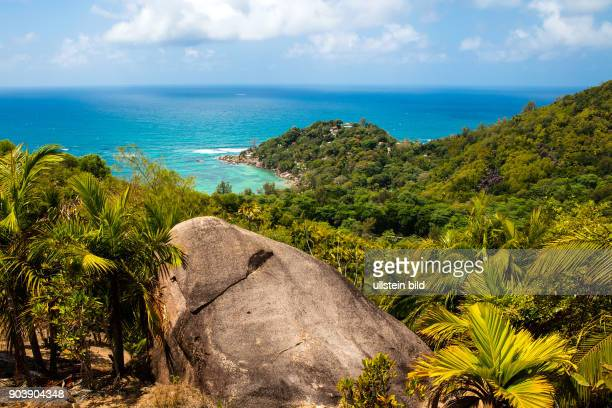 Seychellen Seychelles SYC Praslin Suedostkueste Inselstaat Africa Afrika Suedliches Afrika Westkueste Afrasia Indischer Ozean Maskarenruecken Tropen...