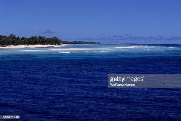 Seychelles, Aldabra Island, View Of Atoll.