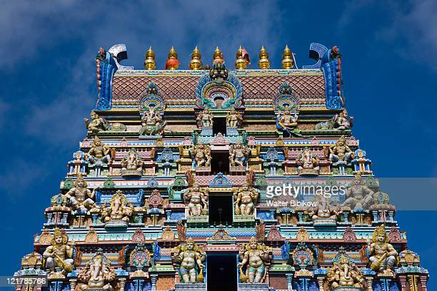 Seychelles, Mahe Island, Victoria, Hindu temple