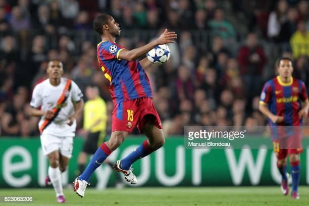 Seydou Keita Barcelone / Chakhtior Donetsk 1/4 Finale Champions League 2010/2011 Camp Nou