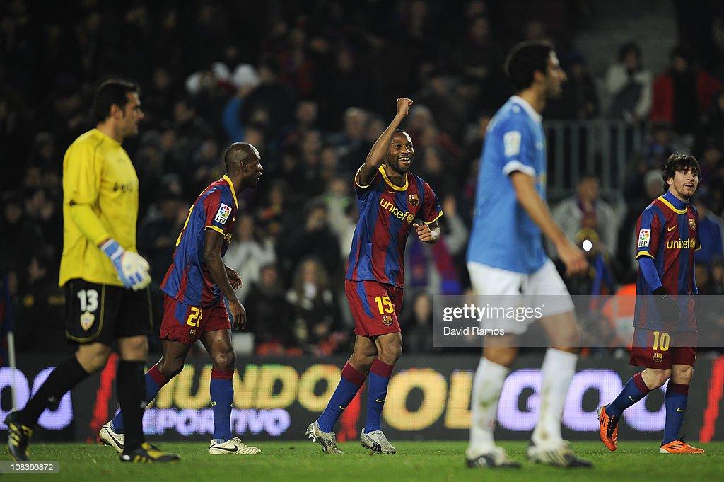 Barcelona v Almeria - Copa del Rey