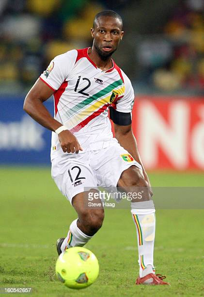 Seydou Keita of Mali during the 2013 African Cup of Nations QuarterFinal match between South Africa and Mali at Moses Mahbida Stadium on February 02...