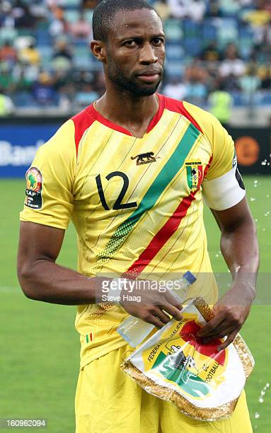 Seydou Keita of Mali during the 2013 African Cup of Nations SemiFinal match between Mali and Nigeria at Moses Mahbida Stadium on February 06 2013 in...