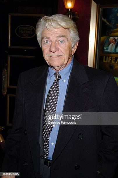 """Seymour Cassel during """"The Life Aquatic with Steve Zissou"""" New York Premiere - Inside Arrivals at Ziegfeld Theater in New York City, New York, United..."""