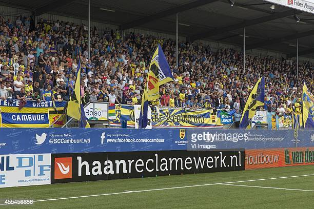 sfeer during the Dutch Eredivisie match between SC Cambuur Leeuwarden and FC Groningen at the The Cambuur Stadium on August 09 2014 in Leeuwarden The...