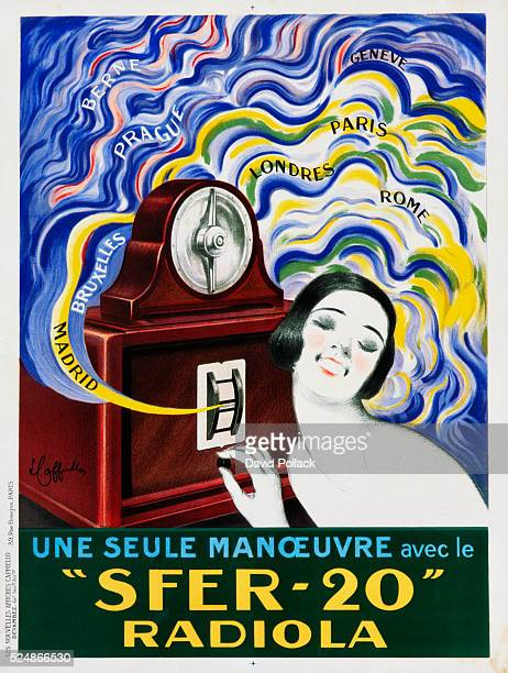 'Sfer20' Radiola Radio Advertisement Poster by Leonetto Cappiello