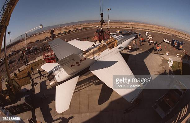 SFJet20303JPLIt flew over the Antelope Valley in the 90s as a chase plane for NASA during research mission and Tuesday morning it was high above the...