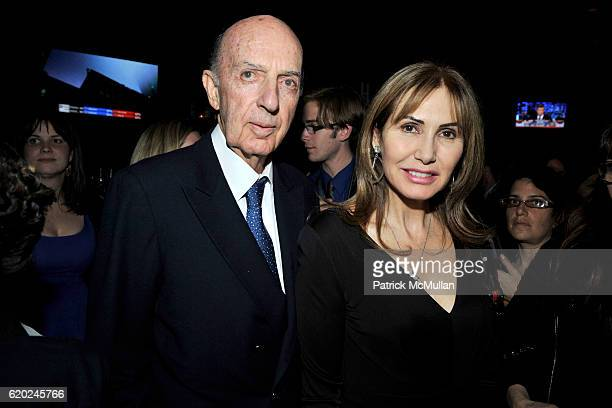 Sforza Ruspoli and Lucia Ruspoli attend HARVEY WEINSTEIN GEORGETTE MOSBACHER CINDI LEIVE and JIM NELSON Host A Bipartisan Evening To Watch ELECTION...