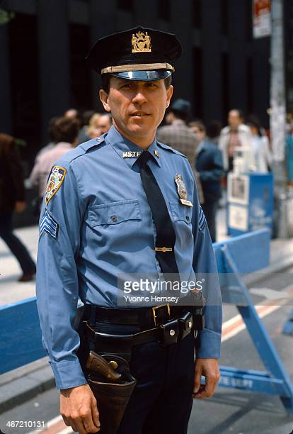 Sgt Charles H Cochrane the first openly gay New York City Police Department officer is photographed May 1 1982 in New York City On November 20 1981...