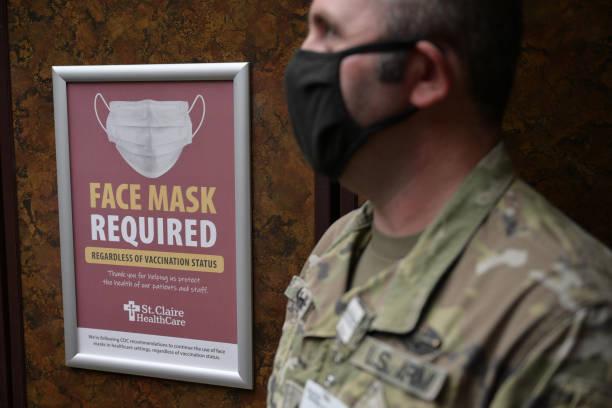 KY: National Guard Assists Hospital Staff At Kentucky Hospital