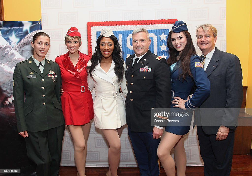 B. Smith Celebrates 70 Years Of The USO On Her New York Restaurant's 25th Anniversary