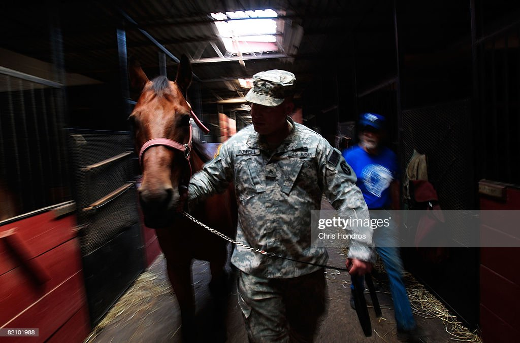 New York Farm Offers Horseriding Therapy For PTSD Sufferers : News Photo