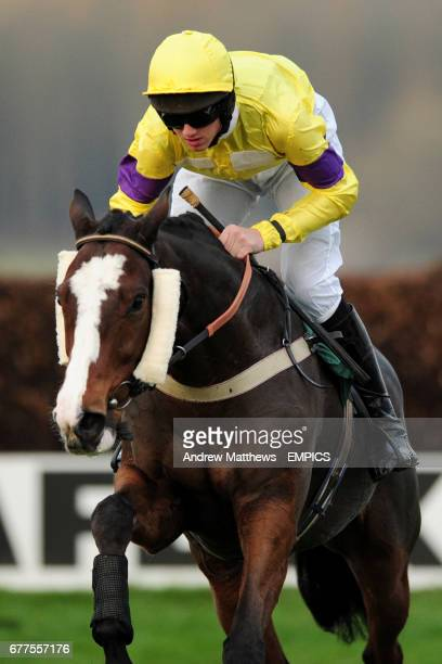 Sgt Roberts ridden by Jack Doyle during the Jane Cheney Memorial Novices' Handicap Chase
