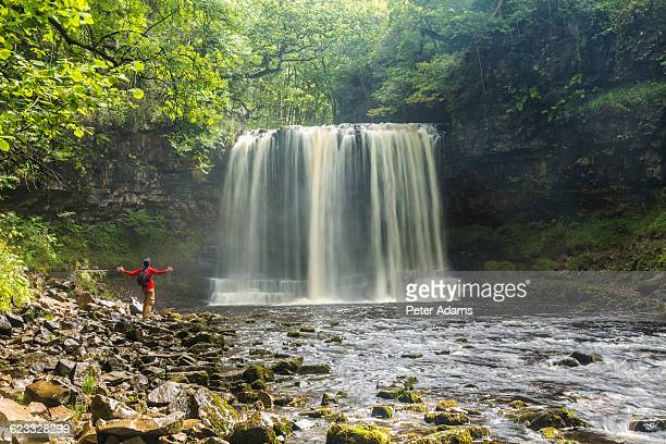 Sgwd yr Eira Waterfall, Brecon Beacons, Wales