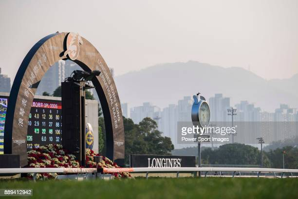 Sha Tin Racecourse is seen in the Longines Hong Kong Cup during the Longines Hong Kong International Races on December 10 2017 in Hong Kong Hong Kong