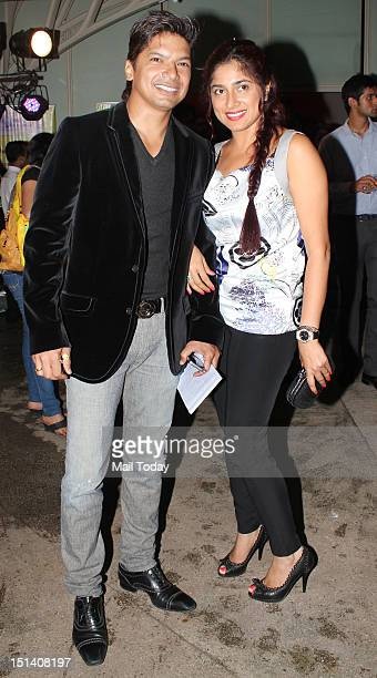 Shaan and Radhika during Godrej eons cycling event at Tote in Mumbai on September 5 2012