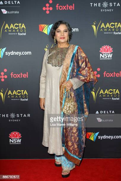 Shabana Azmi attends the 7th AACTA Awards Presented by Foxtel | Ceremony at The Star on December 6 2017 in Sydney Australia