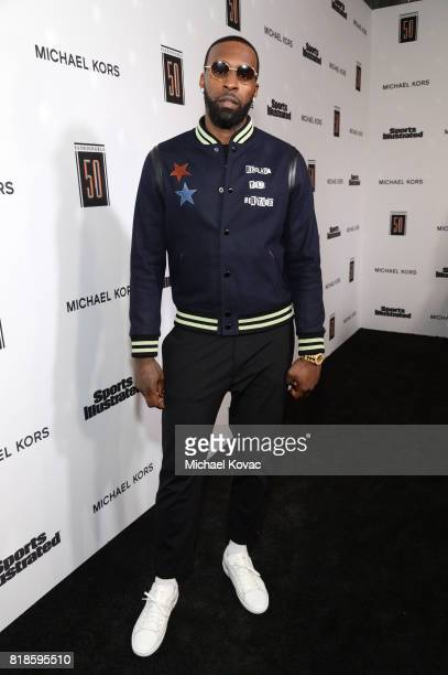 Shabazz Muhammad at Sports Illustrated 2017 Fashionable 50 Celebration at Avenue on July 18 2017 in Los Angeles California